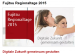 Fujitsu lädt zu Regionaltagen 2015