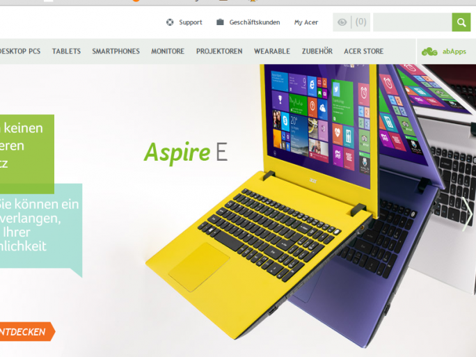 Acer-Notebooks (Bild: Acer)