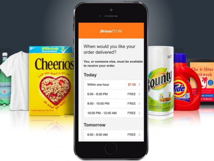 Amazon Prime Now (Bild: Amazon)