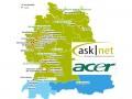 Asknet-Vertriebsnetz (Bild Aknet, Acer, Channelbiz)
