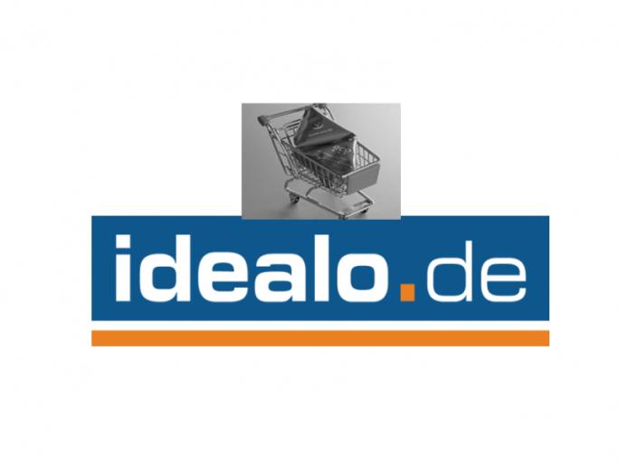 Idealo-Shopping (Bilder: Einkaufswagen: eco. Logo: Idealo)