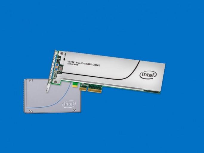 Intel SSD 750 (Bild: Intel)