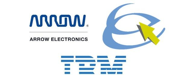 Arrow Esciris IBM (Logos Arroow, Escris, IBM)