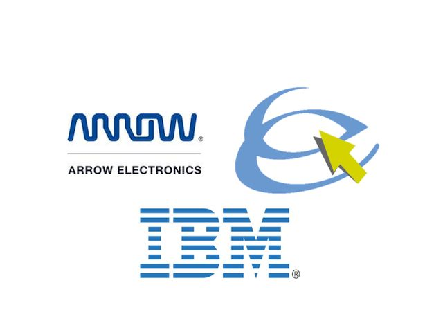 Arrow Esciris IBM (Logos Arroow, Escris, IBM)