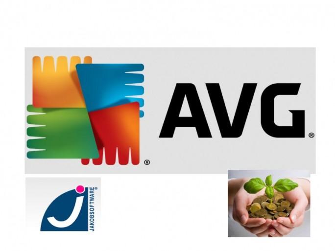 Jakobsoftware veregibt AVG-Prämien (Biler: AVG, Jakobsofteare, Shutterstock)