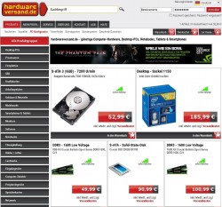 Hardwareversand.de Insolvenz (Screnshot: ITespresso.de)
