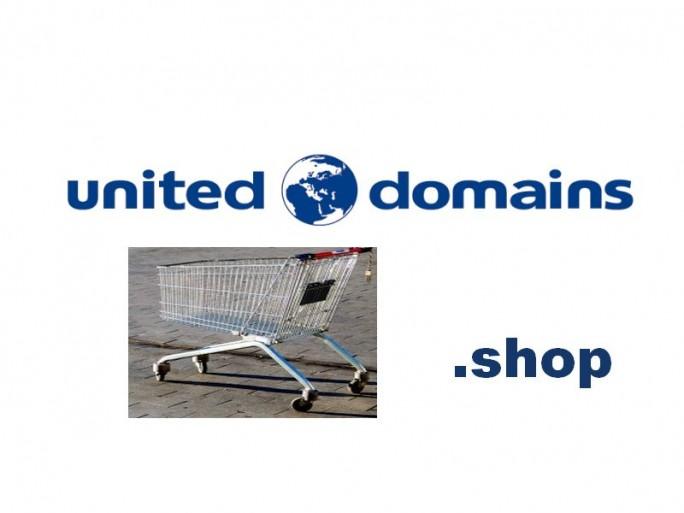 United Domains .shop (Blder: United Domains, Shutterstock, Channelbiz.de)