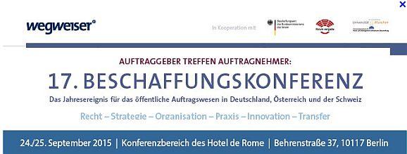 Beschaffungskonferenz2015 (Logo: Wegweiser GmbH)