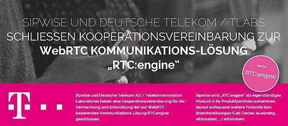 Deutsche Telekom kooperieren (Bild: Sipwise)
