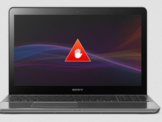 Sony rät von Win10 ab (Screenshot: ZDNet.de)