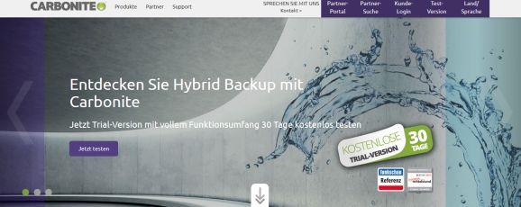 Carbnite Hybrid-Backup (Bild: Carbonite)
