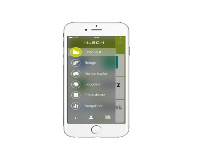 Nubon Startscreen iOS (Bild: Nubon)