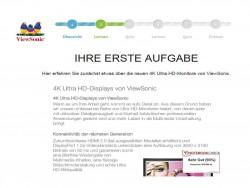 Viewsnoic-Gluecksrad: Erste Aufgabe (Screenshot: Channelbiz.de)