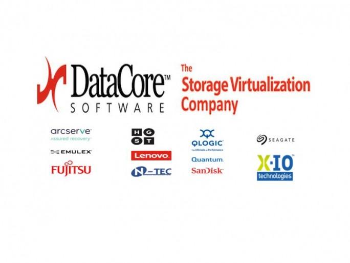 Datacore und Sponsoren (Logos: Datacore)