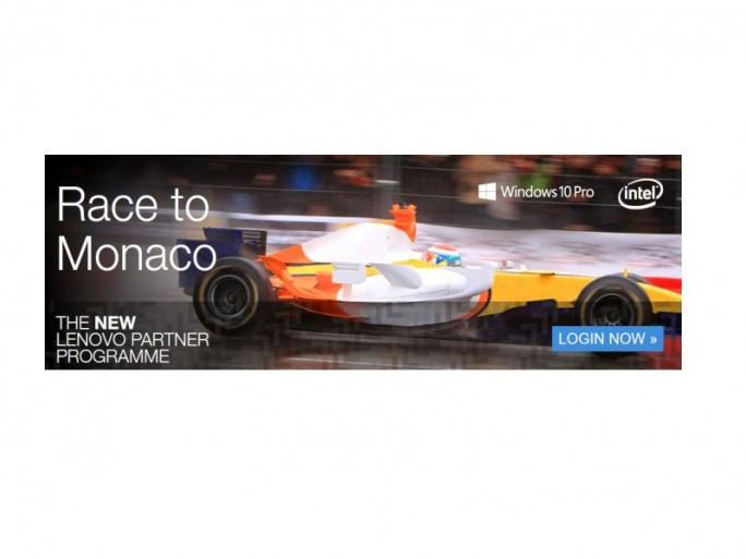 Lenovo Race to Monaco (Bild: Lenovo)
