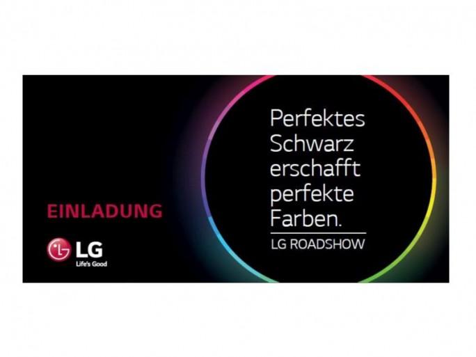 LG Roadshow-Eeinladung (Bild: LG)