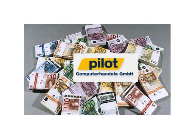 Pilot Vertrieb und Euros (Bilder: Pilot, Bundesbank, Channelbiz.de)
