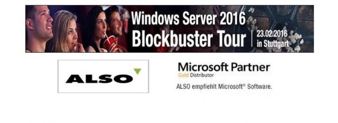 Windows Server2016 Tour (Bilder: Also)