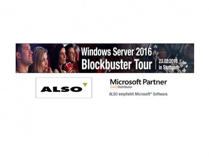 Windows Server2016 Tour (Bilder: Also)