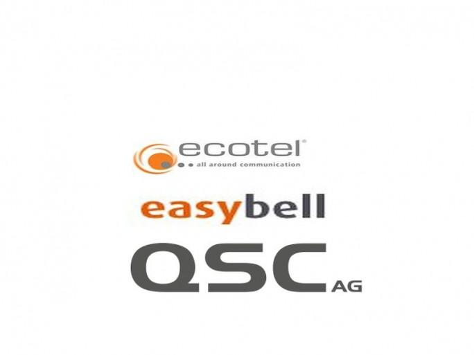 Easybell von Ecotel goes QSC