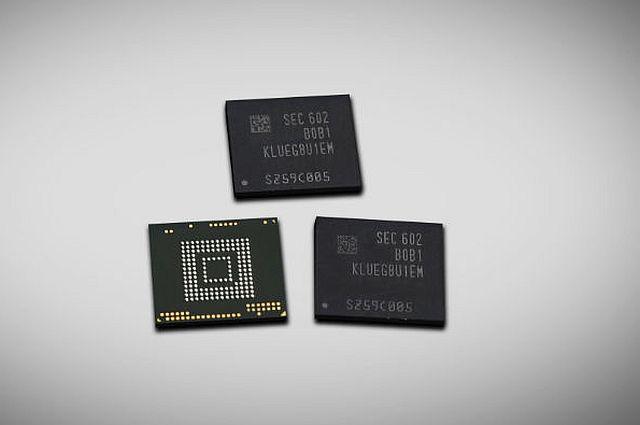 Samsungs 256-GByte-UTFs (Bild: Samsung)