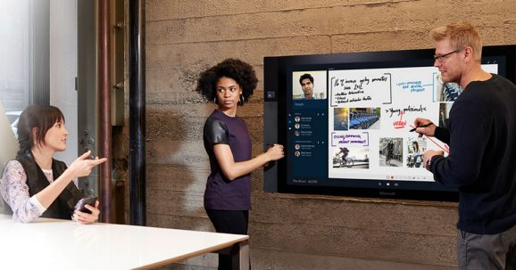 Microsoft Surface Hub (Bild: Microsoft)