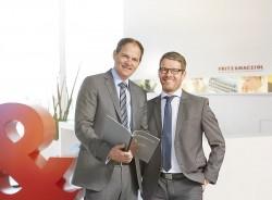 F&M-Geschäftsführer Schallhorn und Pawlowski (Bild: F&M)