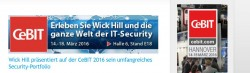 Wick-Hill CeBit (Screenshot: Channelbiz.de)