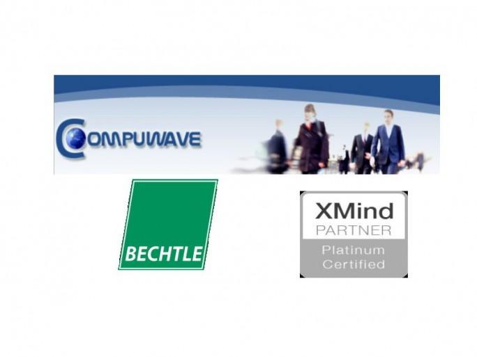 Ccompuwave, Bechtle, XMind Certified (Logos: Compuwave, Bechtle)