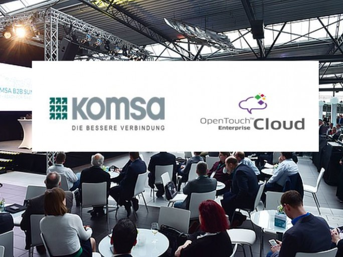 KOMSA und TEC (Logos: Alcatel und Komsa)