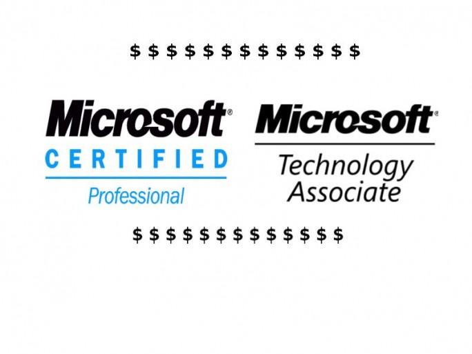Microsoft-Zertifzierungen (Logos: Microsoft)