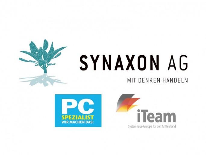 Synaxon-Gruppen (Logos: Synaxon. Zusammenstellung: channelbiz.de)