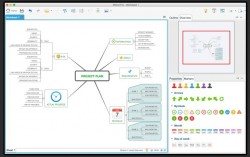 Mindmapping mit XMind (Screen: XMind)