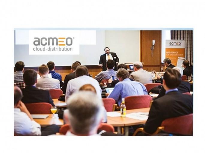 Acmeo-Partnertag (Bild/Logo: Acmeo)