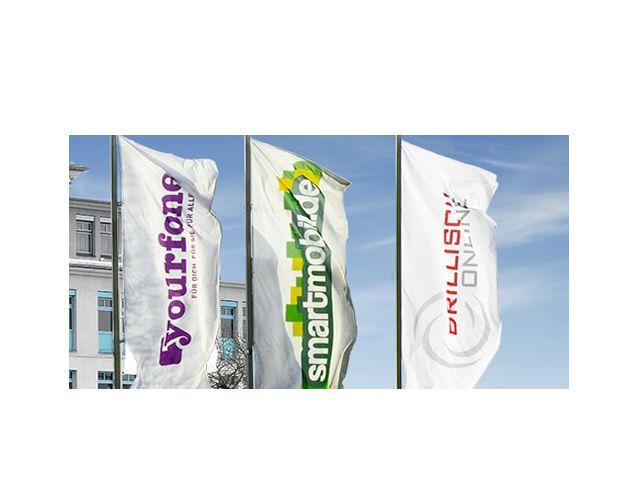 Drillisch-Flaggen (Bild: Drillisch AG)