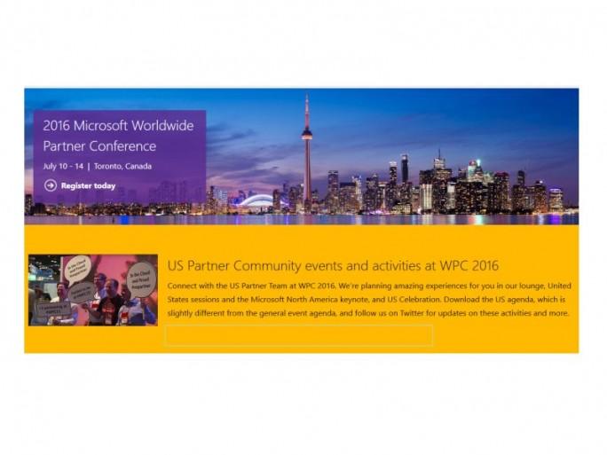 Microsoft WPC2016 (Bild: Microsoft)
