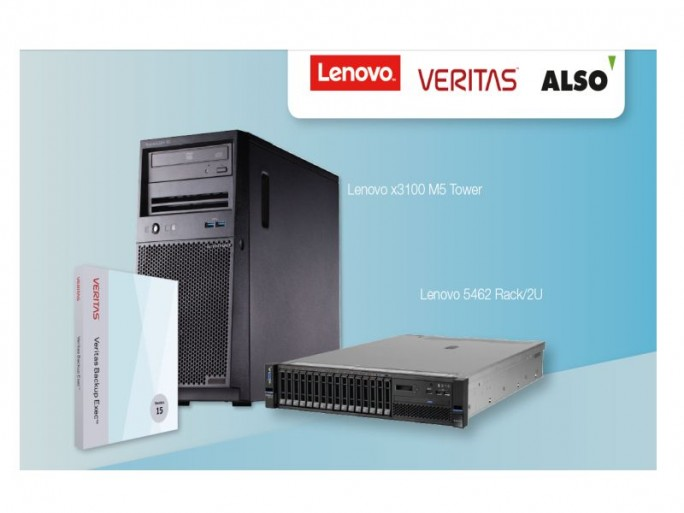 Lenovo-Veritas-Backup-Appliance (Bild: Also)