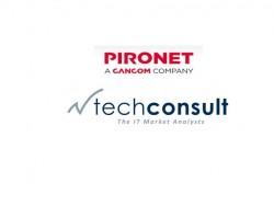 Pironet und Techconsult (Logo-Zusammenstellung: Channelbiz.de)