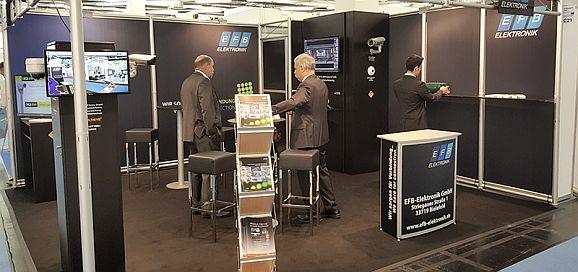 EFB auf dee Sicherheitsmesse München 2016 (Bild: EFB Elektronik)