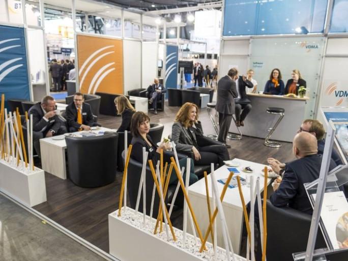 IT&Business VDMA-Stand (Bild: Messe Stuttgart)