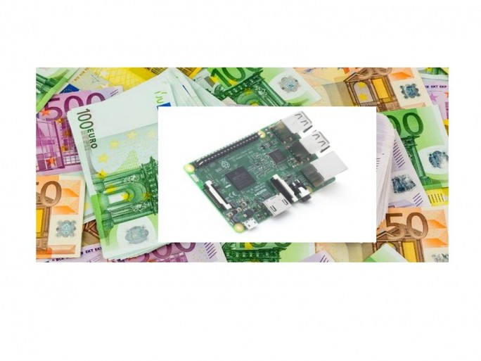 Raspberry-Geld (Bildkombi: channelbiz.de)