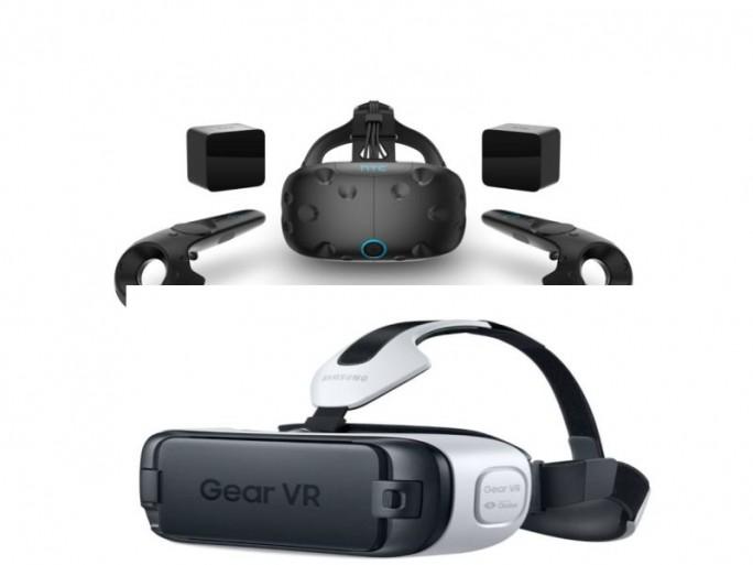 VR-Brillen (Bilder: HTC, Samsung)
