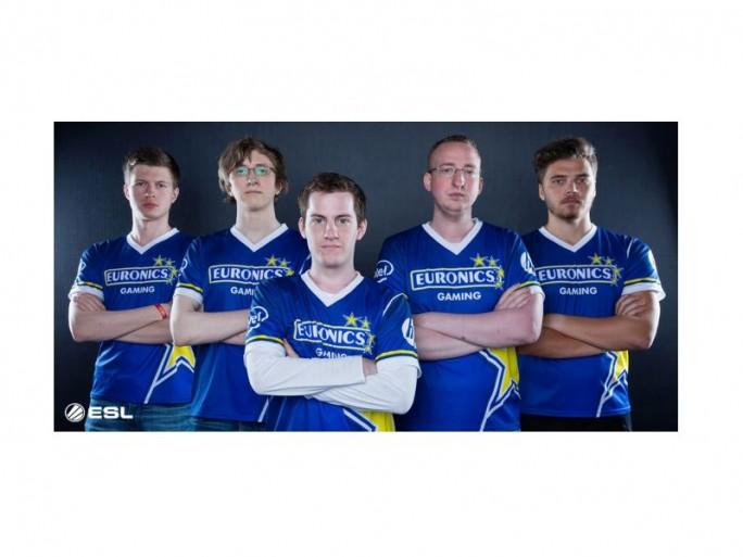 Euronics Gaming Team (Bild: ESL Gaming)