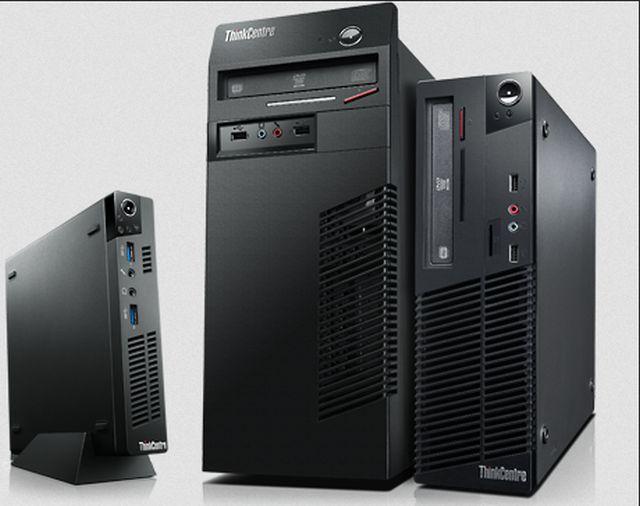 Lenovo-PCs (Bild: Lenovo)