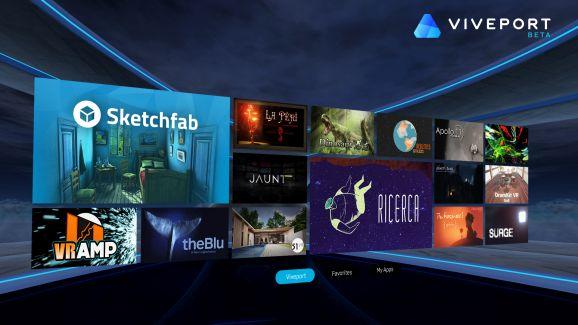 Viveport Beta (Bild: HTC)