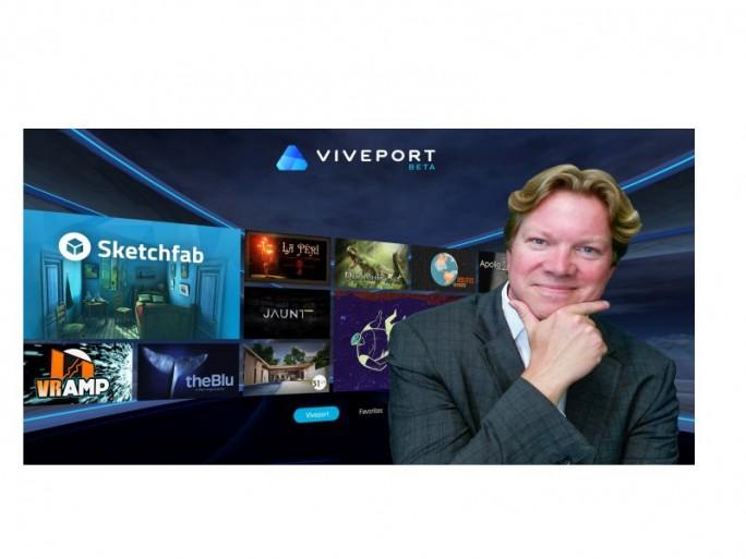 Viveport, Rikard Steiber (Bild: HTC)