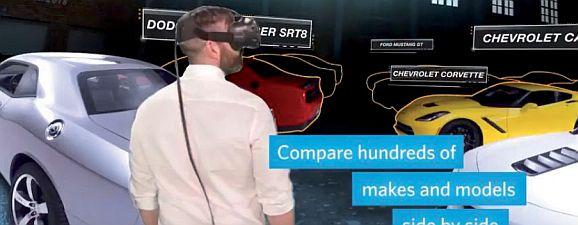 VR-Car-Shopping bei Vroom (Bild: EBay)