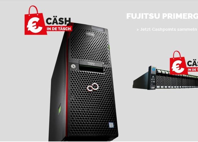Fujitsu-Aktion 'Cash-in-de-Taesch' (Bld: Fujitsu)