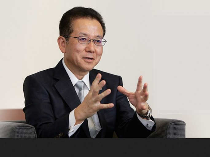 Tatsuya Tanaka, Fujitsu-President (Bild: Fujitsu)