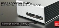 USB-Doickingstation (Bild: Lindy-Elektronik)